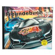Depesche 6318 Monster Cars Freundebuch mit Licht und Sound