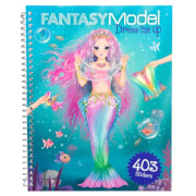 Depesche 8755 Fantasy Model Dress me up Stickerbook
