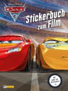 Disney Cars 3, Stickerbuch zum Film sortiert (1 Stück)