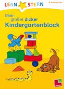 Lernstern: Mein grosser dicker Kindergartenblock, Taschenbuch, 160 Seiten, ab 3 Jahren