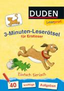 Leseprofi  3-Minuten-Leserätsel für Erstleser: Einfach tierisch