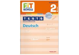 FiT FÜR DIE SCHULE: Tests Deutsch 2. Klasse, Lernbuch, 32 Seiten, ab 7 Jahren