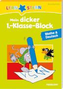 Tessloff LERNSTERN Mein dicker 1.-Klasse-Block Mathe & Deutsch