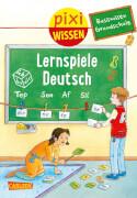Pixi Wissen - Band 98:  Lernspiele Deutsch (Basiswissen Grundschule), Softcover, 32 Seiten, ab 6 Jahre