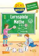 Pixi Wissen - Band 99: Lernspiele Mathe (Basiswissen Grundschule), Softcover, 32 Seiten, ab 6 Jahre