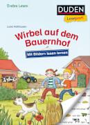 Duden Leseprofi  Mit Bildern lesen lernen: Wirbel auf dem Bauernhof, Erstes Les