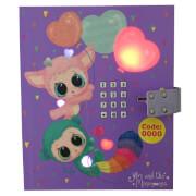 Depesche 5289 Ylvi & the Minimoomis Tagebuch  mit LED, Code und Sound
