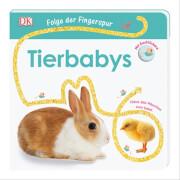 Tierbabys: Folge der Fingerspur, Pappbilderbuch - Dorling Kindersley