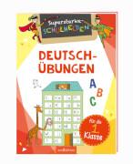 Ars Edition - Schulheld: Deutsch-Übungen 1. Klasse, Broschüre, 24 Seiten, ab 6-8 Jahren