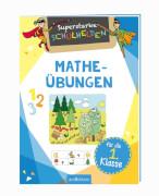Ars Edition - Schulheld: Matheübungen 1. Klasse, Broschüre, 24 Seiten, ab 6-8 Jahren