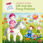 HABA Little Friends - Lilli und das Pony-Picknick Band 1, Gebundnes Buch, 24 Seiten, ab 3 Jahren
