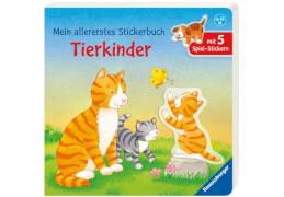 Ravensburger Dal Lago, Mein allererstes Stickerbuch: Tierkinder