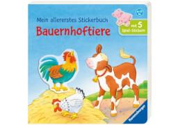 Ravensburger Dal Lago, Mein allererstes Stickerbuch: Bauernhoftiere