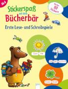 Arena - Stickerspaß mit dem Bücherbär. Erste Lese- und Schreibspiele. Broschüre, 24 Seiten, ab 6-8 Jahren.Reimers, Silke.