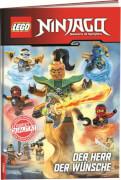 LEGO® NINJAGO® - Der Herr der Wünsche, Lesebuch, 96 Seiten, ab 6 Jahren