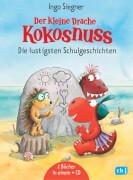 Der kleine Drache Kokosnuss - Die lustigsten Schulgeschichten, m. Audio-CD, Gebundenes Buch, 144 Seiten, ab 6 Jahren