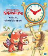 Der kleine Drache Kokosnuss - Weißt du, wie viel Uhr es ist?, Gebundenes Buch, 12 Seiten, ab 4 Jahren