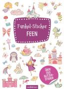 Ars Edition - Funkel-Sticker Feen, Flexibler Einband, ab 4 Jahren