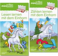 miniLÜK Set Zählen und Lesen lernen mit dem Einhorn
