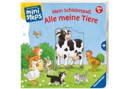 Ravensburger 31755 Bliesener, Schiebespaß Meine Tiere, ab 18 Monate