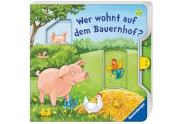Ravensburger 43744  Bilderbuch: Flad, Wer wohnt auf dem Bauernhof?