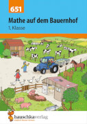 Mathe auf dem Bauernhof 1. Klasse. Ab 6 Jahre.
