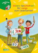 Lesemaus Sonderband zum Lesenlernen: Silben-Geschichten für Jungs, Hardcover 96 Seiten, ab 6 Jahren