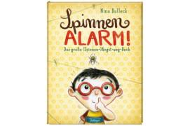 Spinnen-Alarm. Das große (Spinnen-) Angst-weg-Buch, Gebundenes Buch, 32 Seiten, ab 4 Jahren