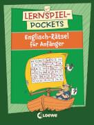 Loewe Lernspiel-Pockets - Englisch-Rätsel für Anfänger