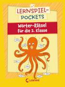Loewe Lernspiel-Pockets - Wörter-Rätsel für die 2. Klasse
