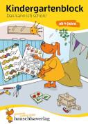 Kindergartenblock - Das kann ich schon! ab 4 Jahre. Ab 4 Jahre.