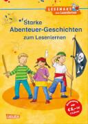 LESEMAUS zum Lesenlernen Sammelbände: Starke Abenteuer-Geschichten zum Lesenlernen