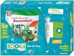 BOOKii® Starterset WAS IST WAS Junior Komm mit auf den Bauernhof!