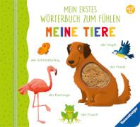 Ravensburger 43767 Teichm.,Wörterbuch Fühlen Tiere