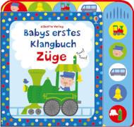 Babys Klangbuch Züge
