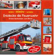 Coppenrath Verlag 67091 Buch ''Sehen - Hören -Wissen: Entdecke die Feuerwehr'', ab 2 Jahre