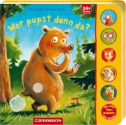 Coppenrath Verlag 962426 Buch ''Wer pupst denn da?'' (Pappe), inkl. Sounds, 12 Seiten, ab 24 Monate