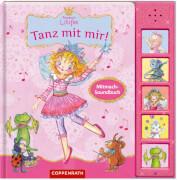 Coppenrath 62530 Buch ''Prinzessin Lillifee - Tanz mit mir!'' (gebunden), inkl. Sounds, 10 Seiten. ab 12 Monaten