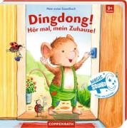 Mein erstes Soundbuch: Dingdong! Hör mal, mein Zuhause! Pappbilderbuch, 12 Seiten, ab 0 Jahren