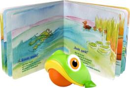 Baby-Frosch und seine Freunde