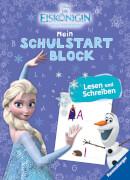 Ravensburger 49125 Schulstartblock Eiskönigin Buchstaben