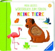 Ravensburger 015122 Mein erstes Wörterbuch zum Fühlen: Meine Tiere