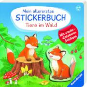 Ravensburger 015160 Mein allererstes Stickerbuch: Tiere im Wald