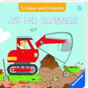 Ravensburger 015191 Schiebe und Entdecke: Auf der Baustelle