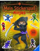 Ravensburger 015467 Mein Stickerspaß: Ninjas