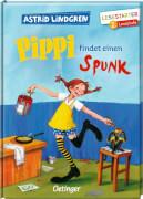 Lindgren, Pippi findet einen Spunk