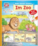 Tessloff WAS IST WAS Kindergarten Malen Rätseln Stickern Im Zoo