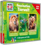 Tessloff WAS IST WAS 3-CD-Hörspielbox Faszination Tierwelt
