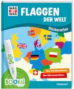 BOOKii® WAS IST WAS Stickeratlas Flaggen der Welt.