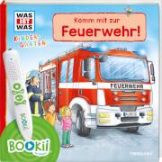 Tessloff BOOKii® WAS IST WAS Kindergarten Unterwegs mit der Feuerwehr!